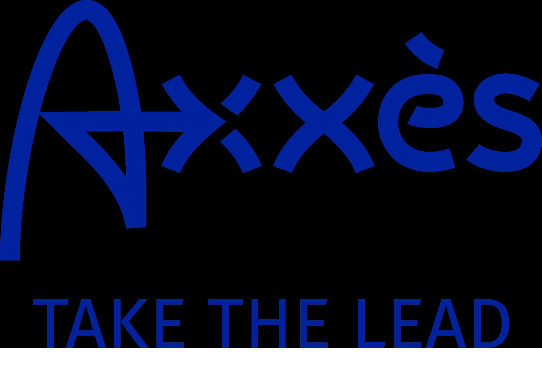 Logo + take the lead