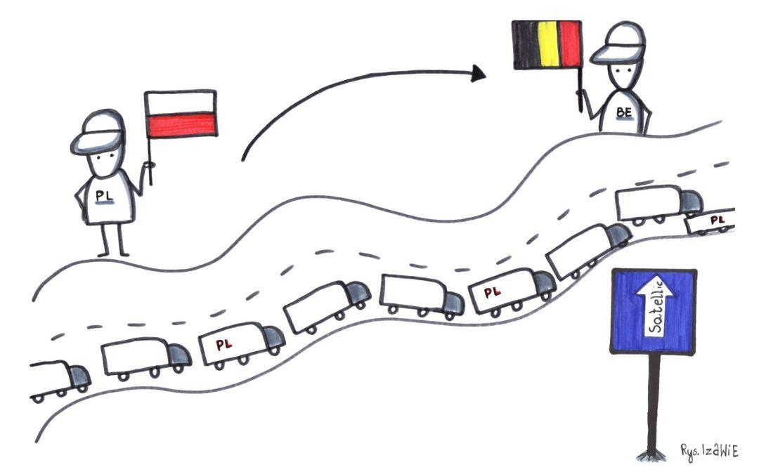 Jedziemy do Belgii. Zaplanuj podróż swojej ciężarówki po Europie
