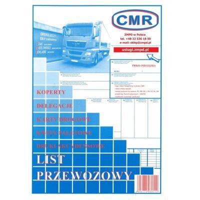 CMR list przewozowy